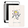 iPad Mini 5 Silicone Pencil Holder Painting Cartoon Kids Custom Case