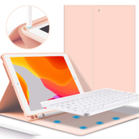 For iPad 9.7 Inch Keyboard Bluetooth With Pencil Holder
