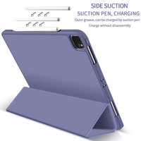 2020 New Smart Tri-Fold Soft TPU Case Shell For iPad 2020 Pro 12.9