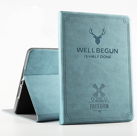 PU Leather Deer Case for iPad 10.2 7th Generation
