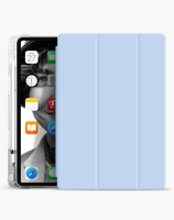 Anti slip and shockproof transparent pencil holder for ipad 9.7 case