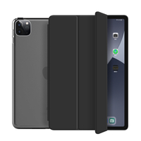 2020 New Trifold Case With Transparent Back Cover For iPad Pro 11 2020