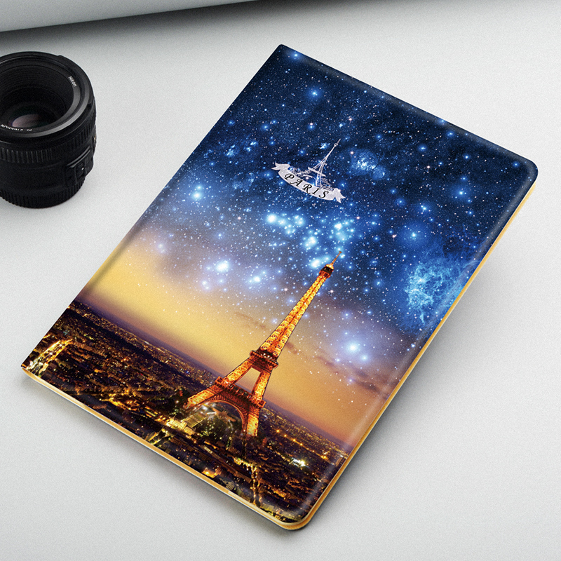 Print Case Wallet Stand Leather Case For iPad 10.5 PU Leather Book Cover Flip Cover Case